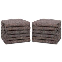 12 moving blankets heavy duty shipping furniture