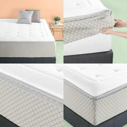 2 5 green tea memory foam quilted