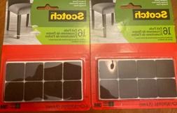 2 Pack Scotch Felt Pads for Furniture Protect Floor 16 Pack