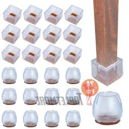 24x Silicone Table Chair Leg Protection Cover Furniture Feet