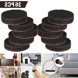 36pcs Non Slip Felt Pads For Furniture Floor Protectors Tabl