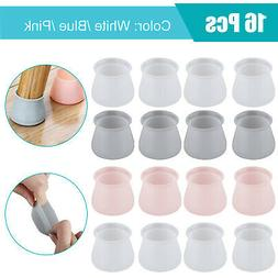 4-16x Silicone Chair Legs Caps Non-slip Cover Pad For Furnit