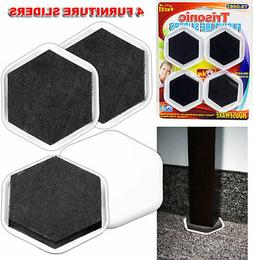 4 FURNITURE SLIDERS GLIDERS EASY HEAVY LARGE APPLIANCE