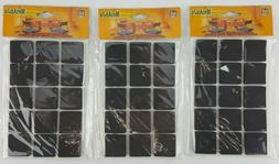 45 count 1 square rubber pads