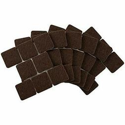 4717695N Self-Stick 1 Inch Square Felt Furniture Pads to Pro