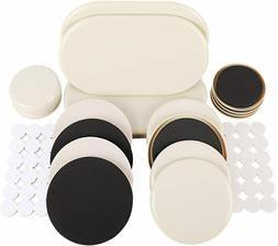 56 PCS Furniture Sliders and Furniture Pads for Heavy Furnit