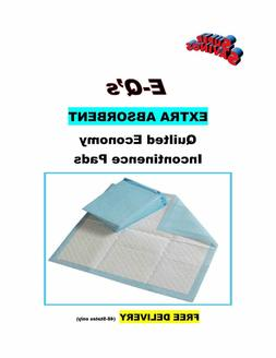 """600-17x24"""" EXTRA  ABSORBENT Quilted Incontinence Mattress/Fu"""