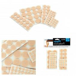 76 Floor Protectors Furniture Leg Felt Pads Self Adhesive Ch