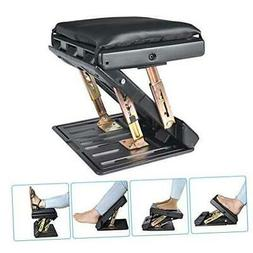 Adjustable Footrest with Removable Soft Foot Rest Pad Max-Lo
