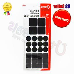 Anti-Skid Rubber Furniture Protection Pads Self Adhesive Flo