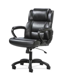HON Sadie Leather Executive Computer/Office Chair with Arms