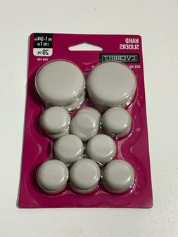 Everbilt Beige Adhesive Round Plastic Sliders for Table and