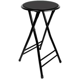 24 Inch Cushioned Folding Stool - Trademark Home  - Holds up