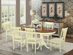 7 PC dining room set for 6-dining table with 6 Dining Chairs