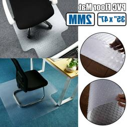"""Durable PVC 2MM Thick 35"""" x 47"""" Office Chair Furniture Mat f"""