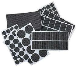 FOOMEXT 129 Pieces Furniture Pads-Heavy Duty Adhesive Rubber