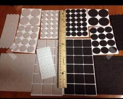 Furniture Pads: 162 Piece Variety Pack