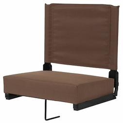 Grandstand Comfort Seats by Flash with Ultra-Padded Seat in
