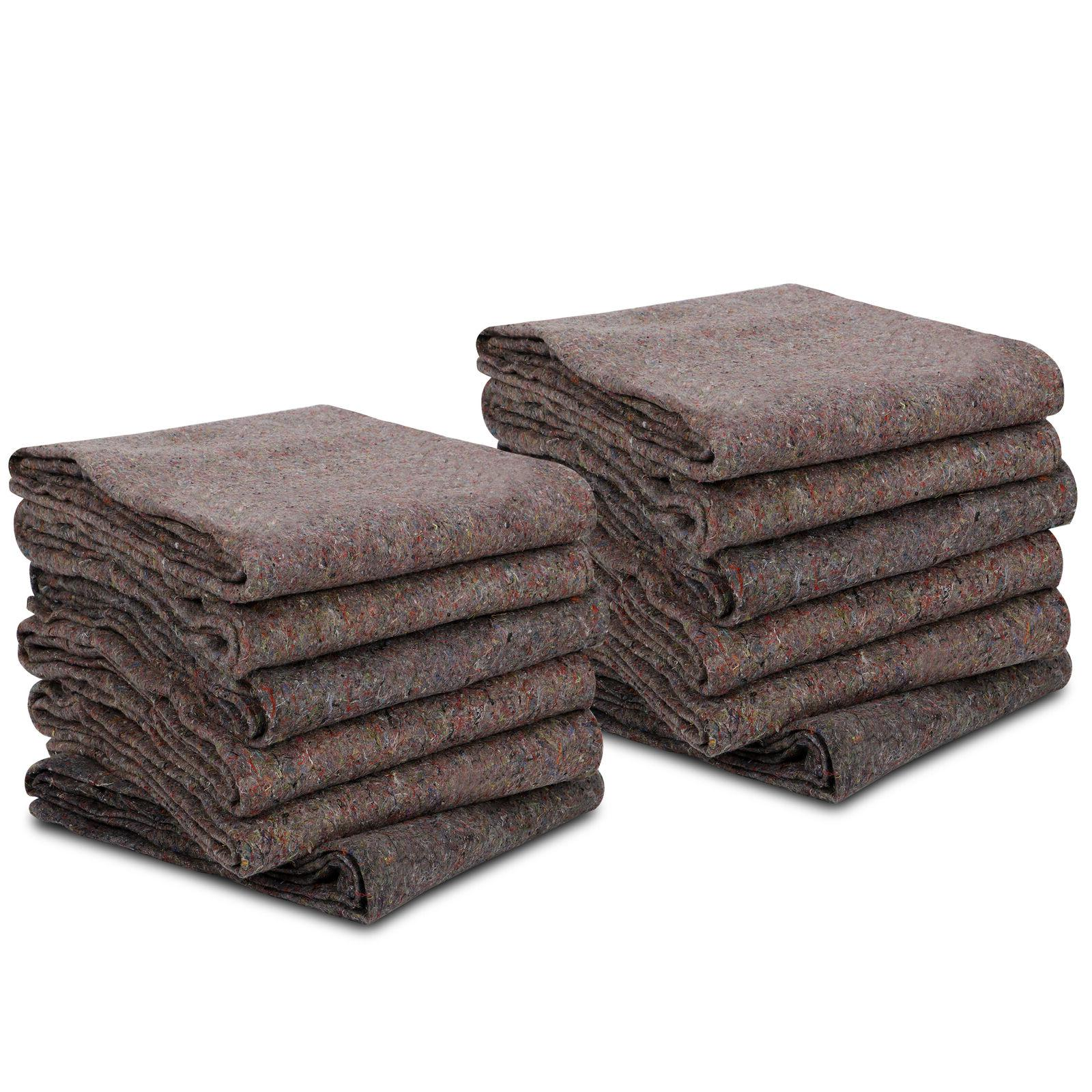 12 Blankets Duty Shipping Furniture Protection Pads