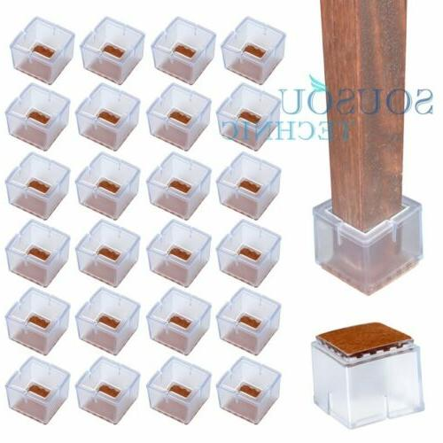 24 Chair Feet Protector Silicone stickers