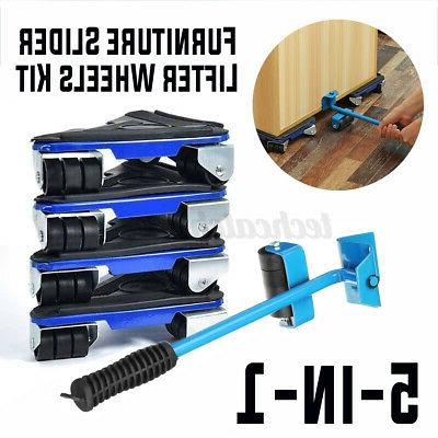 5pcs 660lbs heavy furniture lifter mover 360