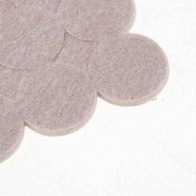 6Pcs Felt Pads Sticky for Floor Tables