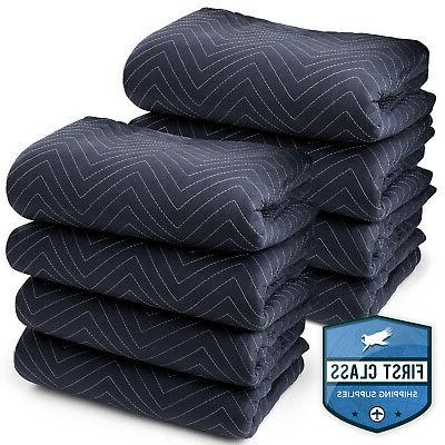 8 moving blankets furniture pads pro economy