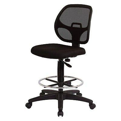 deluxe mesh back drafting chair