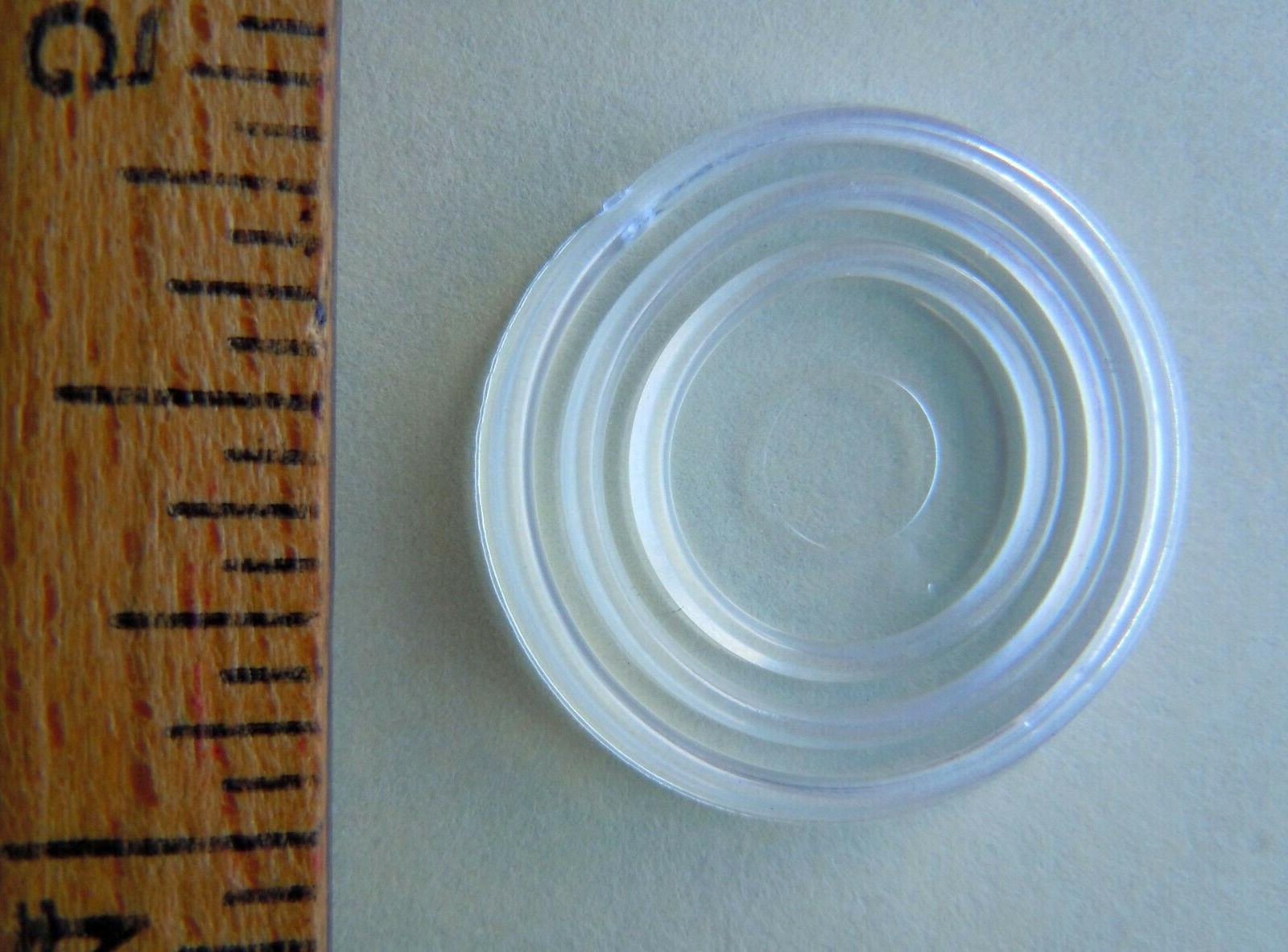 Free Skid-proof Round PVC Glass Bumpers
