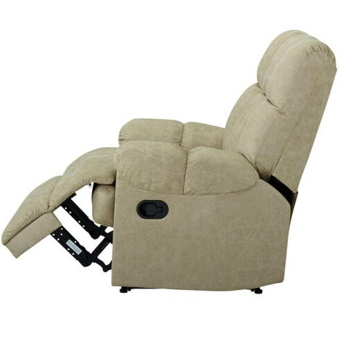 Leather Recliner Comfortable Soft Sturdy