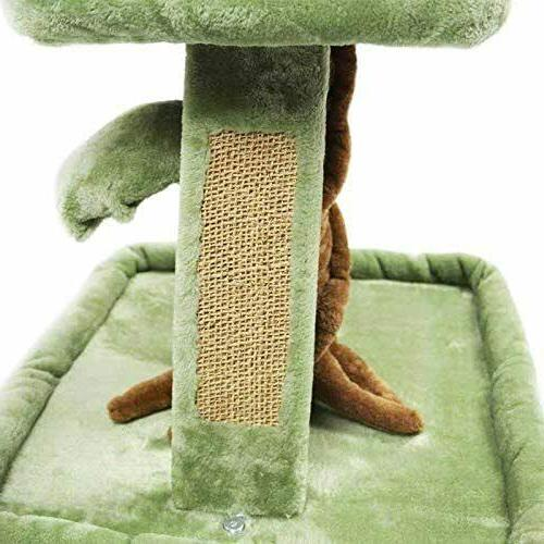 🥇MultiLevel Cat House Condo Scratching Play