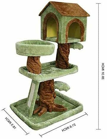 🥇MultiLevel Cat Tree Condo Furniture Stand Scratching Play 🥇