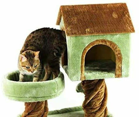 🥇MultiLevel Tree Condo Furniture with Scratching Pads