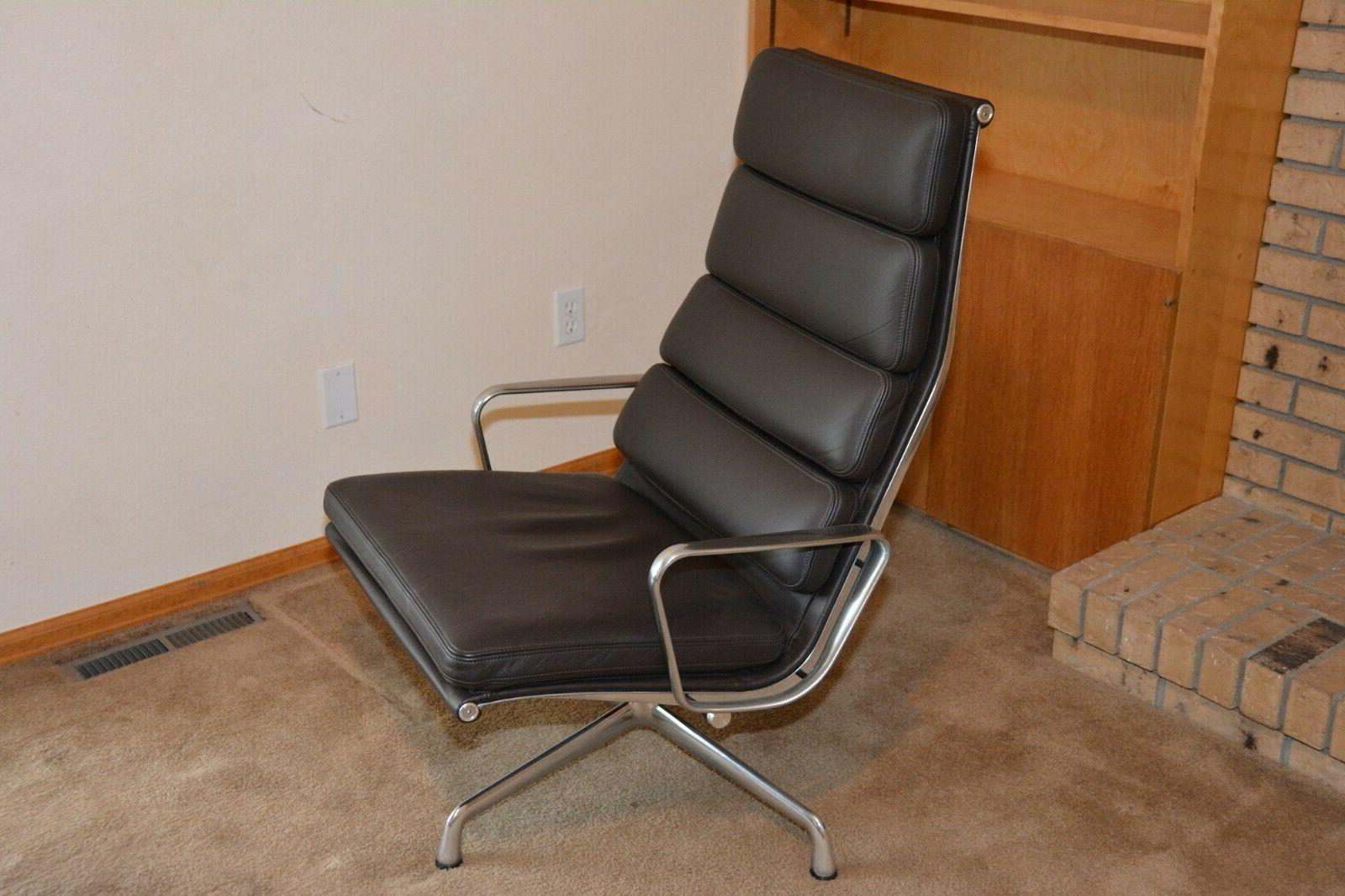 NEW AUTHENTIC EAMES MILLER ALUMINUM GROUP SOFT PAD LOUNGE
