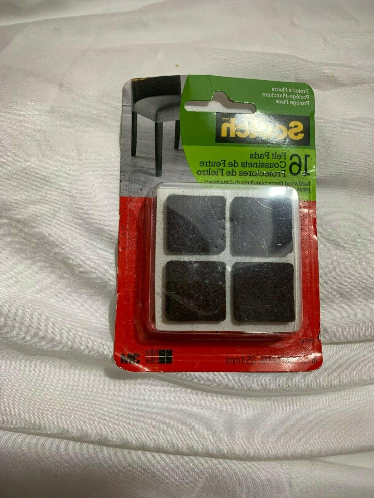new without package 16 felt pads