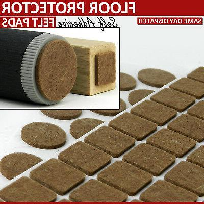 real felt furniture pads self adhesive floor