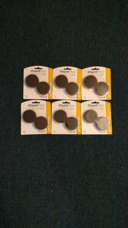 Lot  of Softtouch Self Stick Felt Pads - Brown