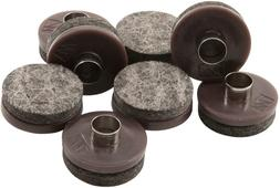 Nail-On Heavy Duty Felt Pads for Wood Furniture and Hard Flo