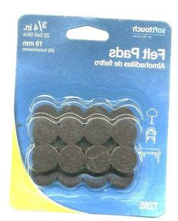 new 20 pack felt pads soft touch
