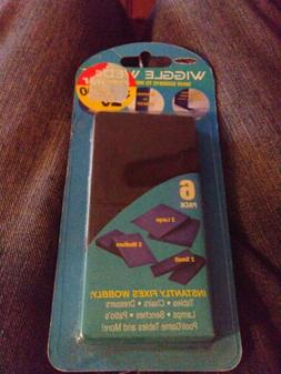 NEW 6 piece Furniture Wedge Wobble Totter Stopper Fix Level