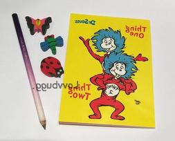 Seuss Things Pad & Pencil Set for American Girl & Wellie Sch