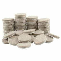 SoftTouch 4719095N Heavy Duty 1 Inch Felt Furniture Pads to