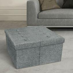 Storage Ottoman Bench Table Container Storage Home Furniture