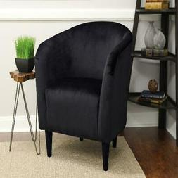 Mainstays Tub Accent Chair Upholstery Microfiber Padded Seat